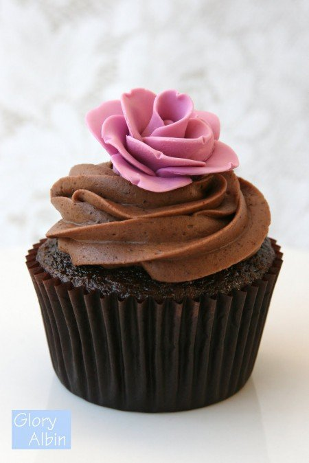 Recipe Perfectly Chocolate Cupcakes Glorious Treats