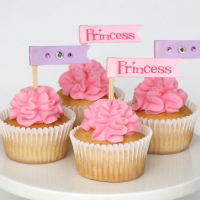 Cupcakes with pretty ruffled frosting
