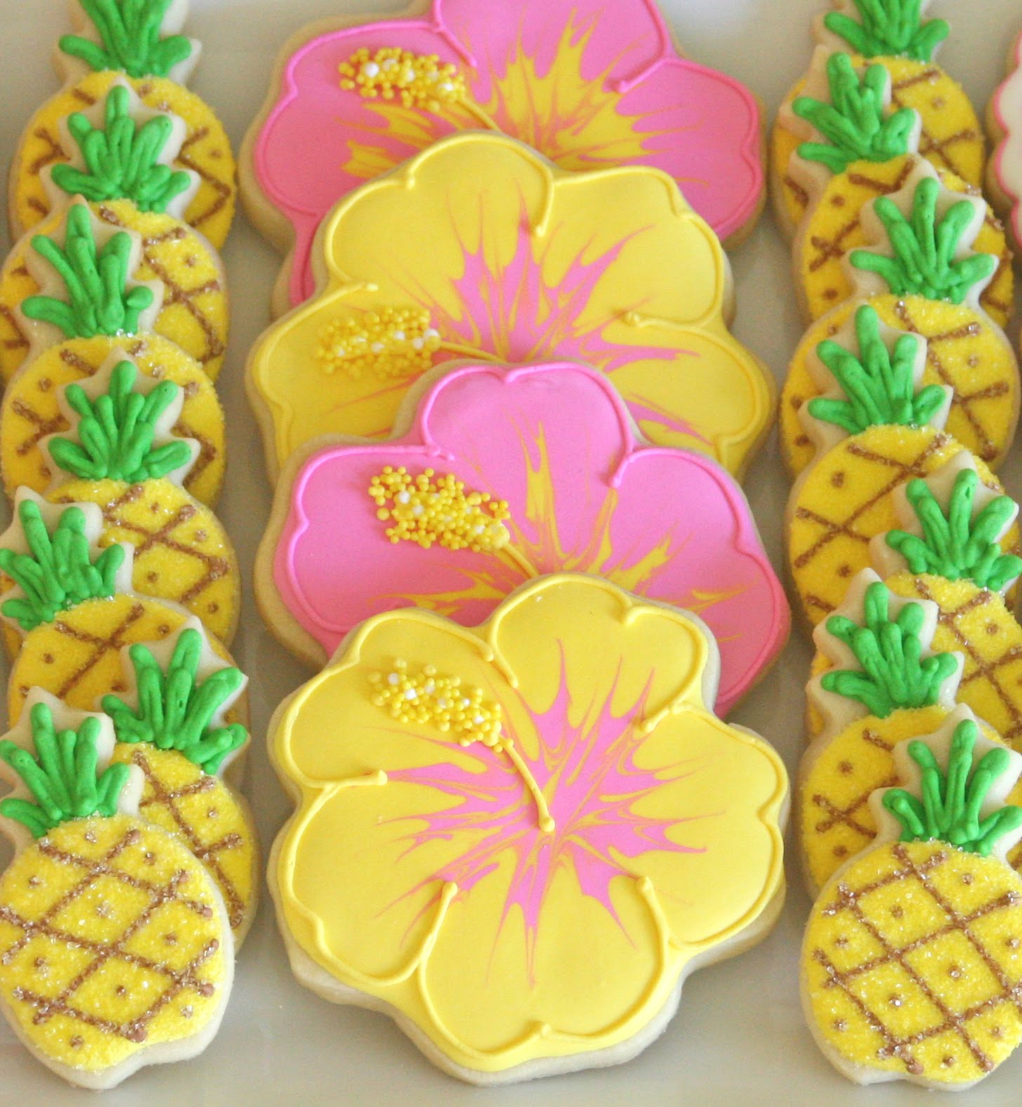 Cookie Decorating How To Make Pretty Hibiscus Cookies Glorious Treats