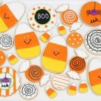Cute Halloween Cookies - by Glorious Treats