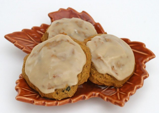 Pumpkin Cookies with Maple Icing – Glorious Treats