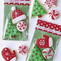 Christmas cookies packaging