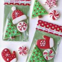 Christmas cookies packaging