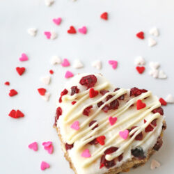 cranberry white chocolate bar
