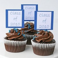 graduation cupcakes toppers