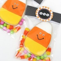 packaging for halloween cookies