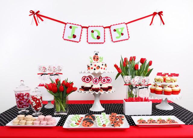 Joys Ladybug Birthday Glorious Treats