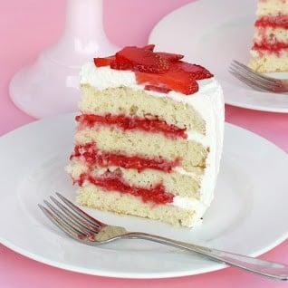 Strawberry Shortcake… Cake – Glorious Treats
