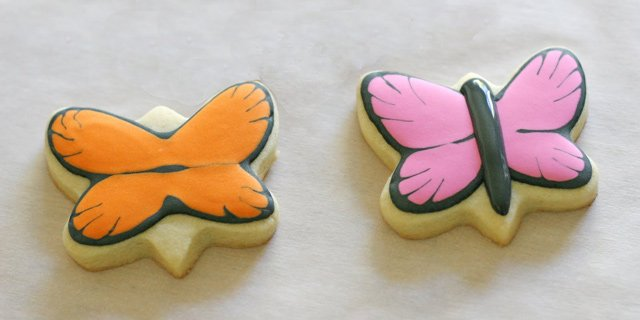Butterfly Cookies Tutorial