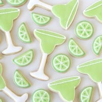 Margarita Decorated Cookies