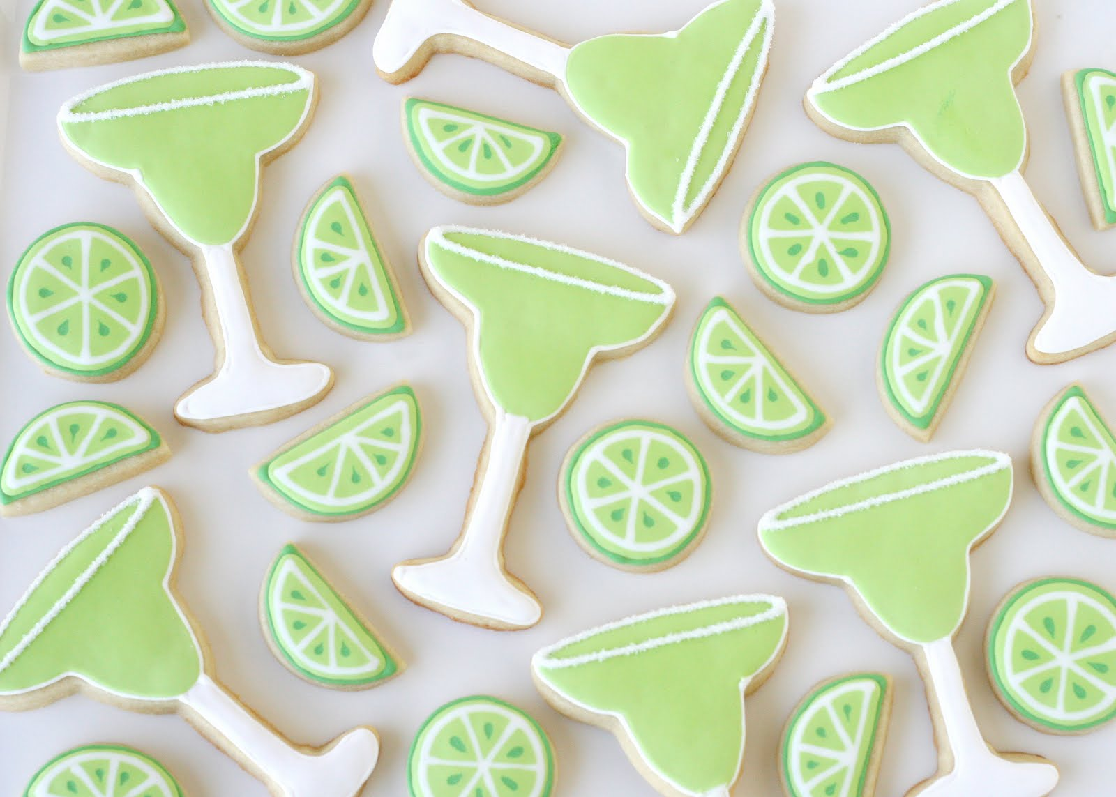 Margarita Cookies {Decorating How-To} – Glorious Treats