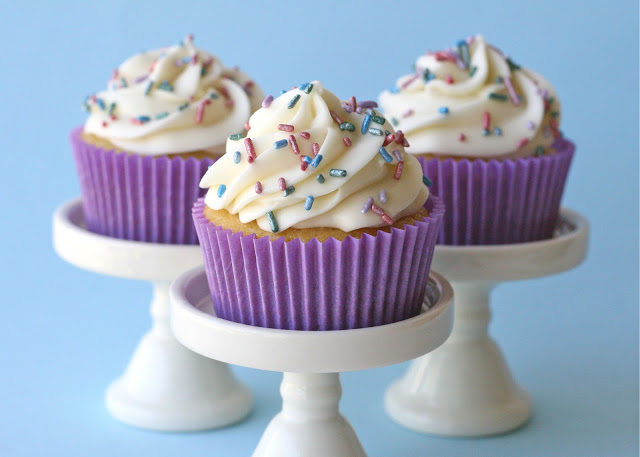 Simply the BEST vanilla cupcake recipe!