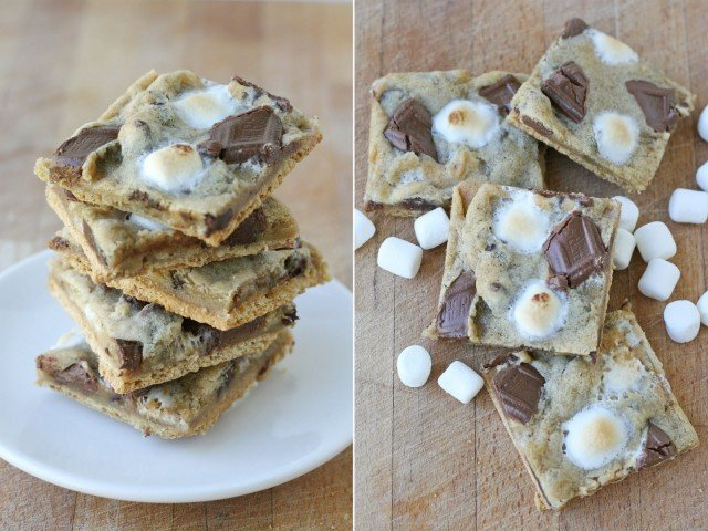 Graham Cracker S'mores Cookies {Recipe} – Glorious Treats