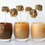 smores pops in cups