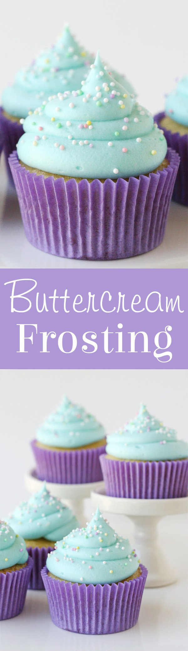 Simply PERFECT buttercream frosting! You'll use this recipe again and again!