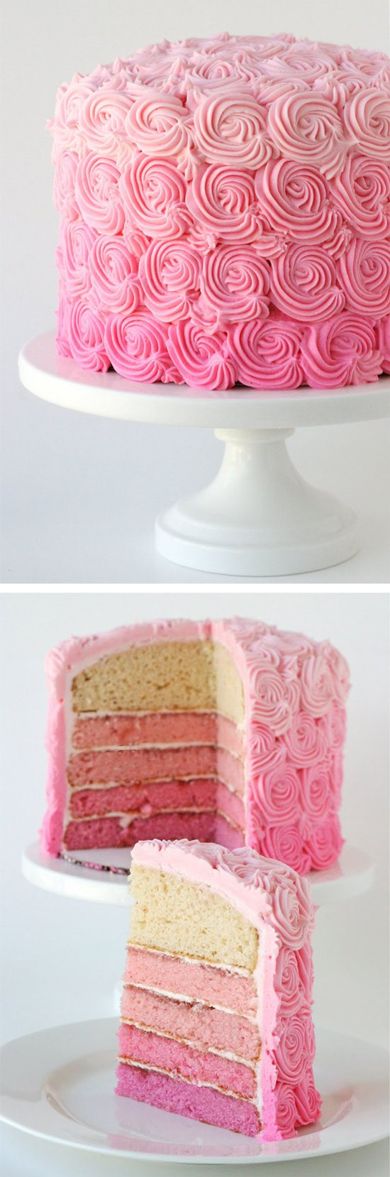 The most beautiful cake ever! Includes recipe and step-by-step instructions to re-create this gorgeous cake.