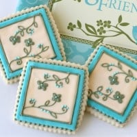 pretty bunco cookies