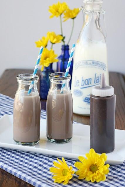 Homemade Chocolate Syrup Recipe - by www.glorioustreats.com