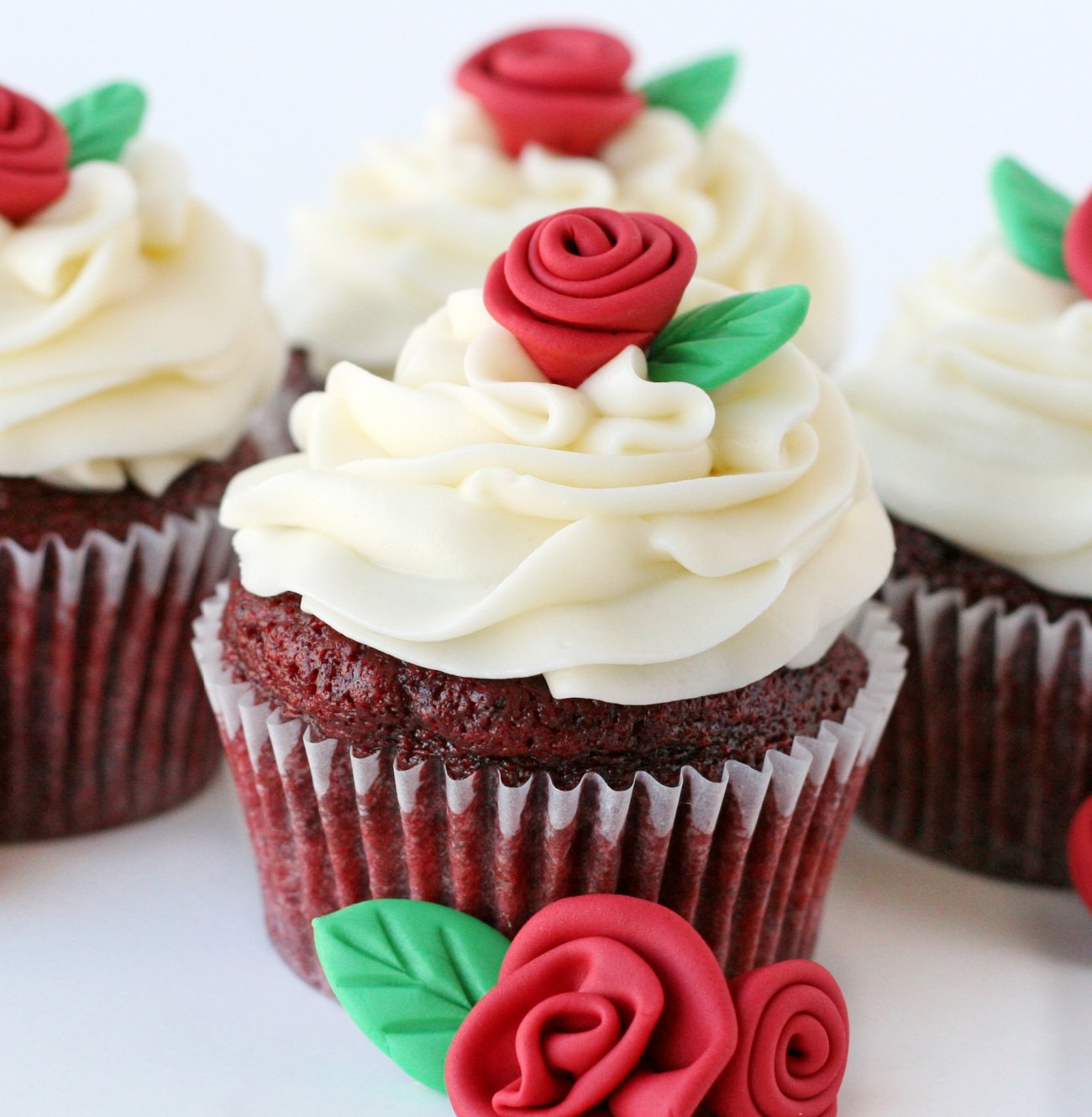 The Best Red Velvet Cupcakes Glorious Treats