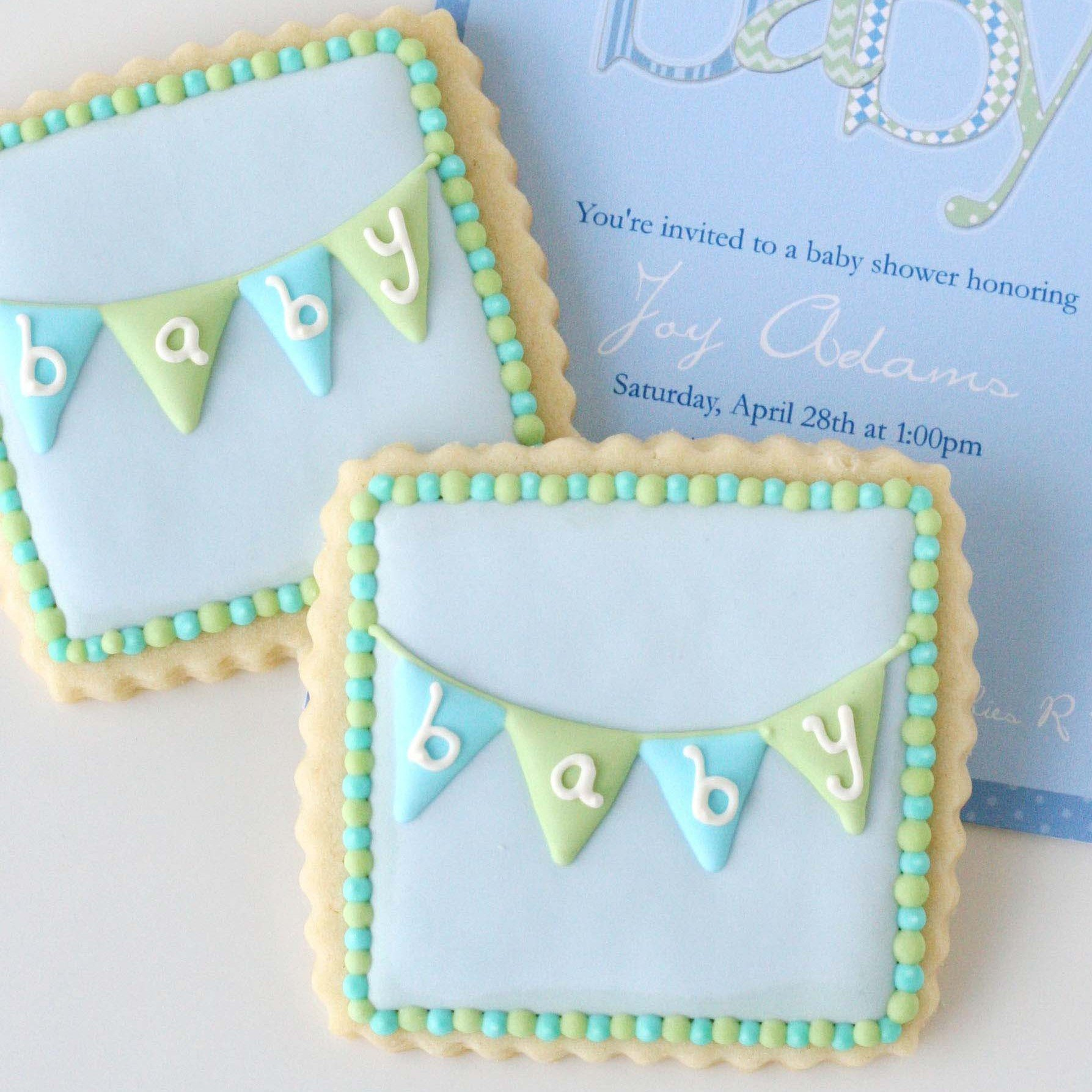 pics How to Make Cookie Bunting