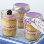 Blackberry Vanilla Cupcakes