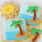 3-D Beach Cookies by Glorious Treats