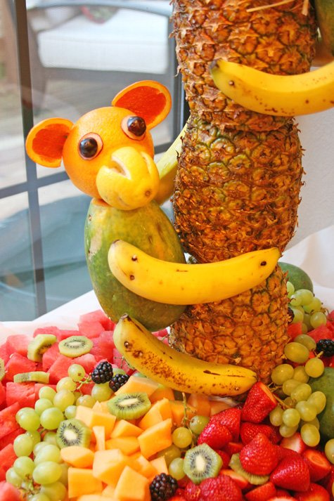 Incredible Pineapple Tree Centerpiece with Fruit Monkeys 475 x 713 · 177 kB · jpeg