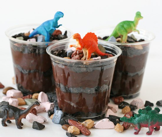 Dirt, Worms And Dinosaurs (yes, That's A Dessert