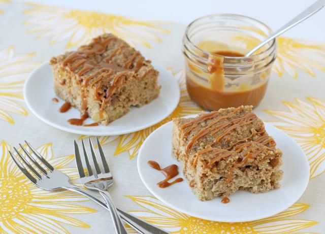 Recipe for a caramel flavored cake