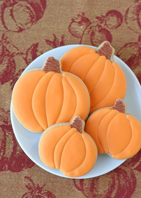 Pumpkin Spice Cutout Cookies - The perfect cookie for fall decorating!