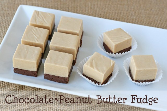 Chocolate Peanut Butter Fudge – Glorious Treats