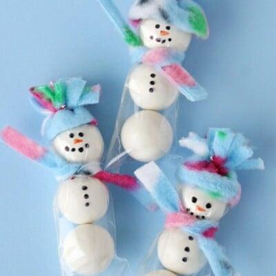 Gumball Snowmen