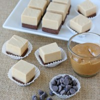 Peanut Butter and Chocolate Fudge Recipe