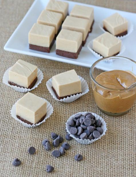 Chocolate Peanut Butter Fudge – Glorious Treats