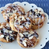 Blueberry Cheesecake Danish