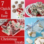 7 Quick and Easy Christmas Treats - by Glorious Treats
