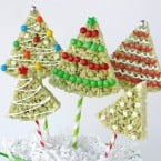 Christmas Krispie Trees - by Glorious Treats