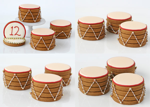 Twelve Days of Christmas Cookie Project, Twelve Drummers Drumming ...