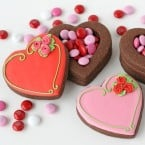 3-D Heart Cookie Boxes - by Glorious Treats