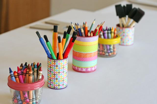 Rainbow Art Birthday Party Glorious Treats
