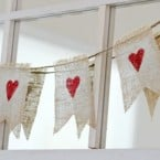 Cute Valentine's Day Garland Tutorial - by Glorious Treats