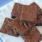 Perfect Homemade Brownies- by www.glorioustreats.com