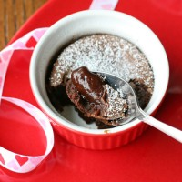 Amazingly Delicious!  Chocolate Molten Lava Cakes- by Glorious Treats