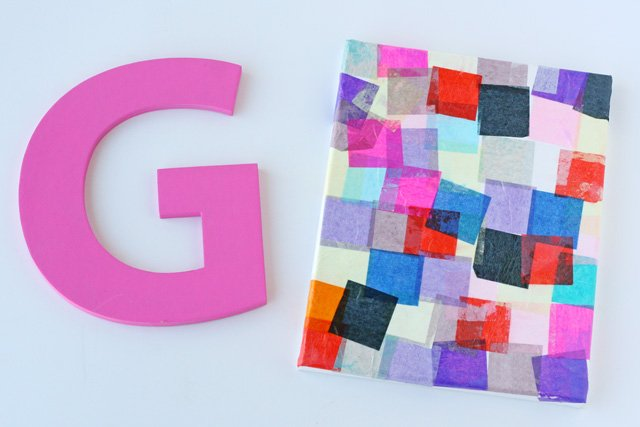 Personalized Mosaic Craft for Kids