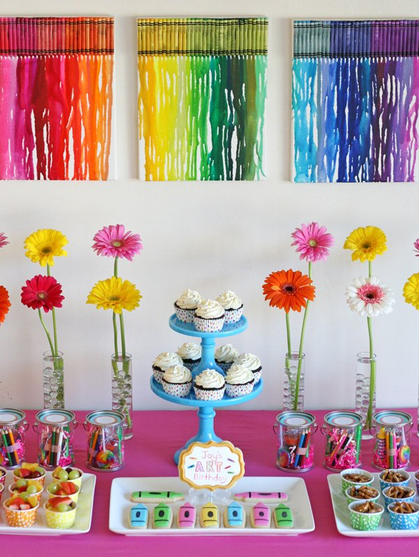 Wonderful Rainbow Art Party Birthday 600 x 796 · 232 kB · jpeg