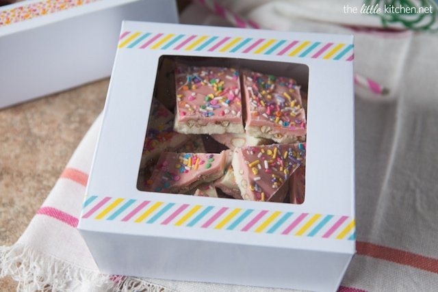 White Chocolate Pretzel Candy Bark (boxed)