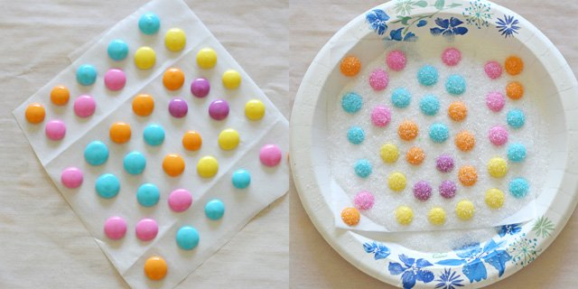 How to make royal icing flower centers - Glorious Treats