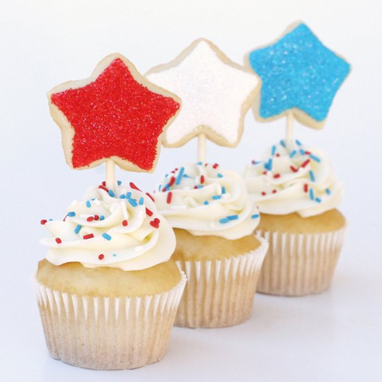 4th of July Cupcakes - by Glorious Treats