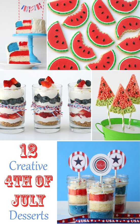 12 Creative 4th of July Desserts » Glorious Treats