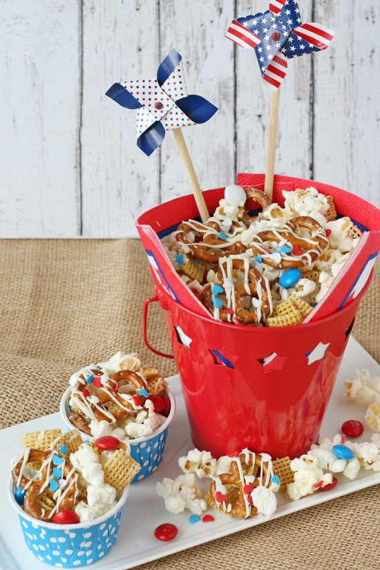 All American Snack Mix - by glorioustreats.com